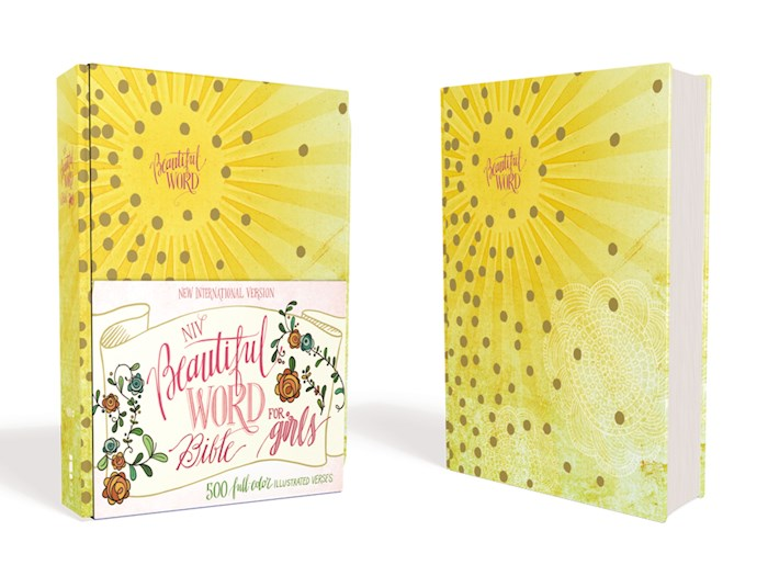 NIV Beautiful Word Bible For Girls (Full Color)-Sunburst Hardcover (Not Available-Out Of Print) | SHOPtheWORD