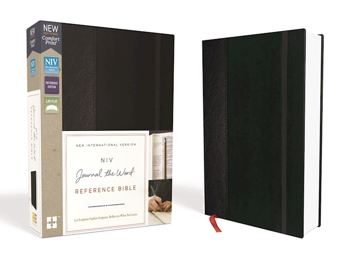 NIV Journal The Word Reference Bible-Black Hardcover  | SHOPtheWORD
