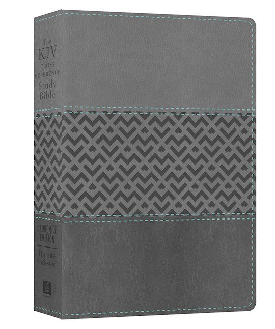 KJV Cross Reference Study Bible: Students' Edition-Charcoal DiCarta Indexed | SHOPtheWORD