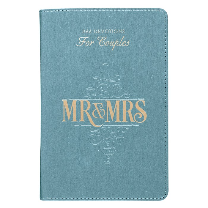 Mr. & Mrs. 366 Devotions For Couples-LuxLeather by Art Gift Christian | SHOPtheWORD