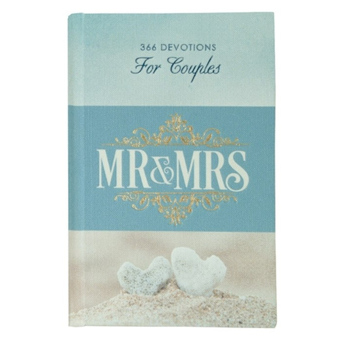 Mr. & Mrs. 366 Devotions For Couples-Hardcover by Art Gift Christian | SHOPtheWORD