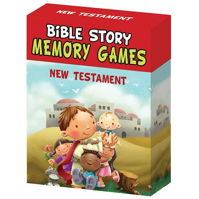 Bible Story Memory Games-New Testament by Art Gift Christian | SHOPtheWORD