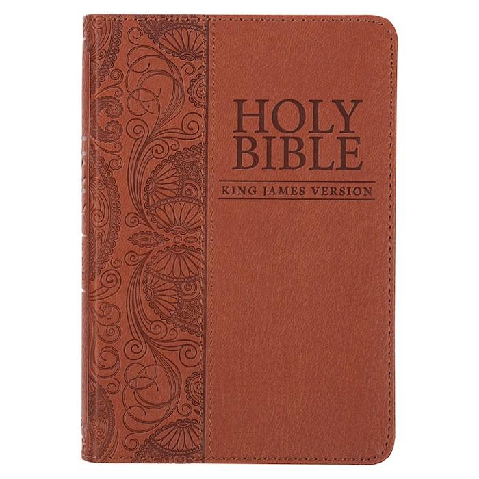 KJV Pocket Bible-Tan LuxLeather | SHOPtheWORD