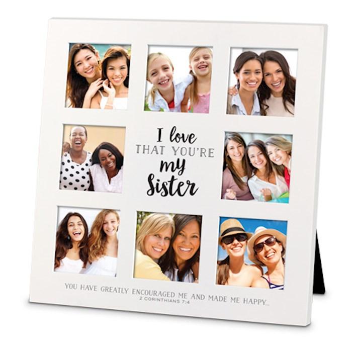 Frame-Collage-MDF-I Love That-Sister (#25734) | SHOPtheWORD