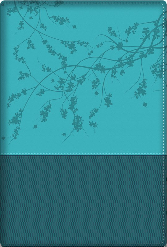 NKJV A Woman After God's Own Heart Bible-Teal SatinTone | SHOPtheWORD