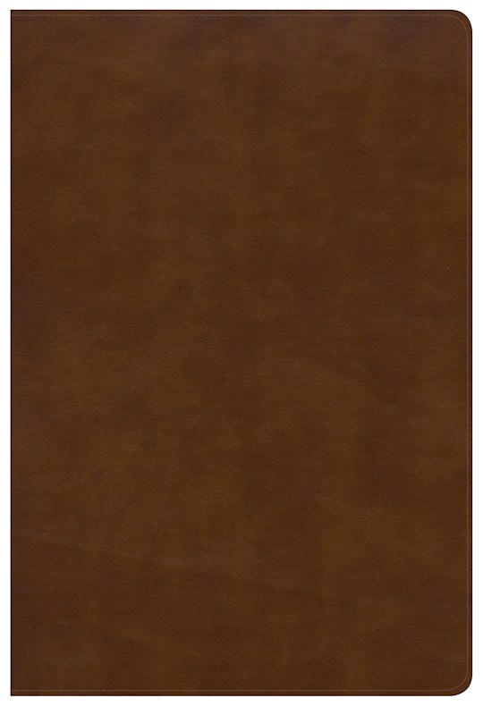 NKJV Large Print Ultrathin Reference Bible-British Tan LeatherTouch  | SHOPtheWORD