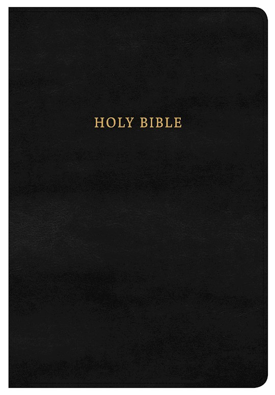 NKJV Super Giant Print Reference Bible-Classic Black LeatherTouch | SHOPtheWORD