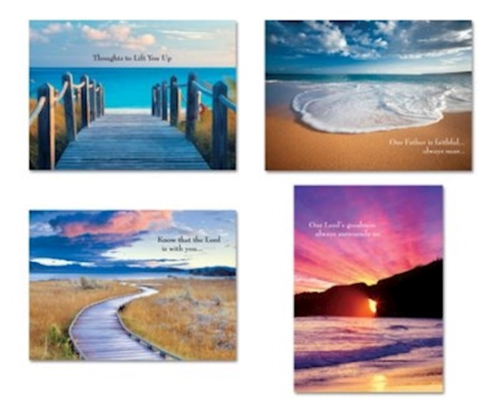 Card-Boxed-Shared Blessings-Encouragement 2-Coastal (Box Of 12)   SHOPtheWORD