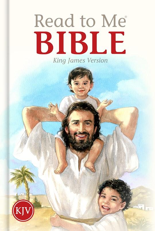 KJV Read To Me Bible-Hardcover  | SHOPtheWORD