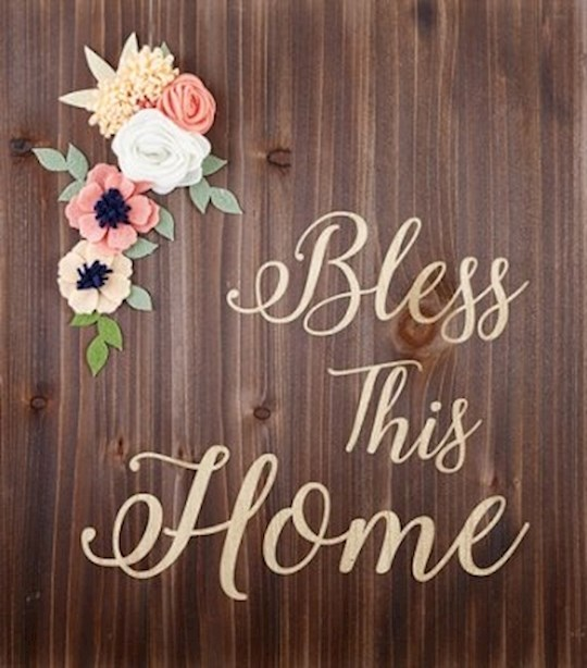 "Wood Pallet Sign-Home (14"" x 15.75"") 