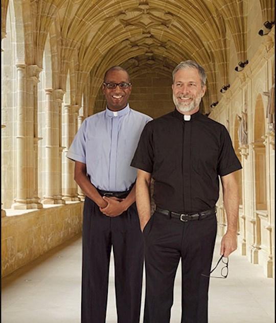 Clergy Shirt-Short Sleeve-Tab Collar-Black (16) | SHOPtheWORD