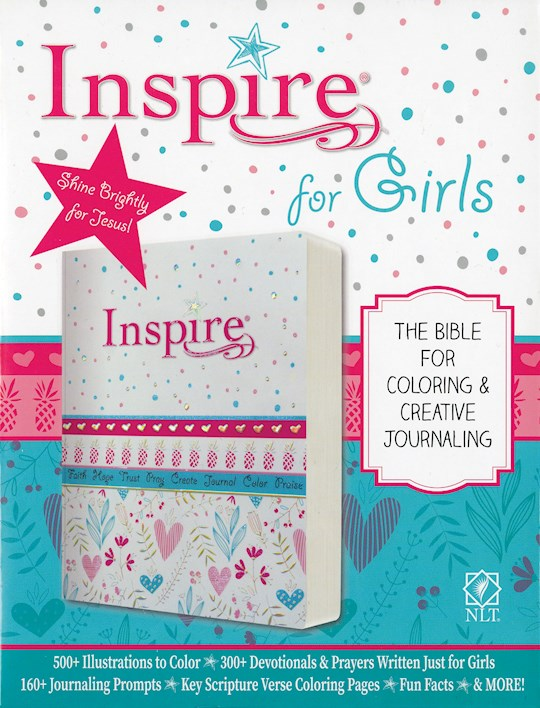 NLT Inspire Bible For Girls-Softcover | SHOPtheWORD