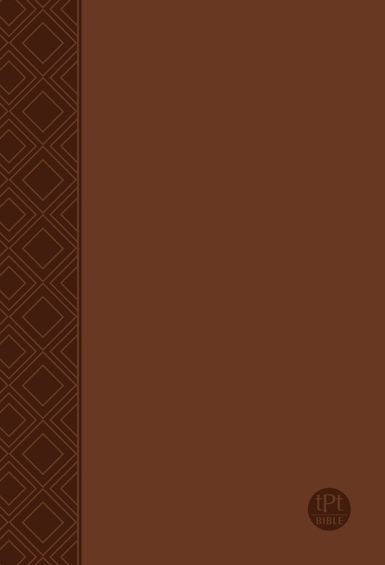 The Passion Translation New Testament With Psalms, Proverbs & Song Of Songs (2nd Edition)-Brown Imitation Leather  | SHOPtheWORD