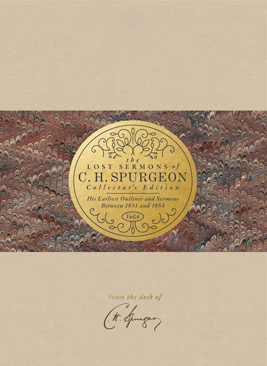 The Lost Sermons Of C. H. Spurgeon Volume IV (Collector's Edition) by Jason Duesing | SHOPtheWORD
