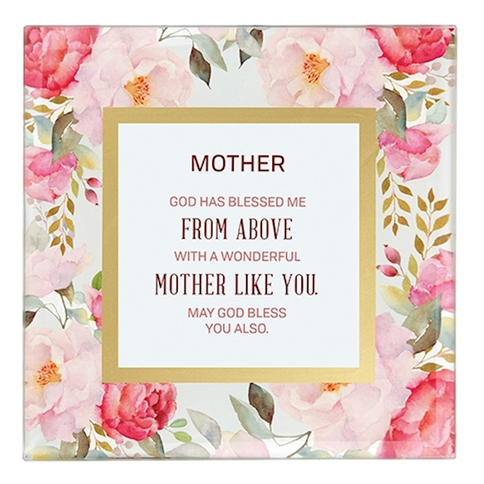 "Framed Art-Tabletop-Mother (7"" x 7"") 