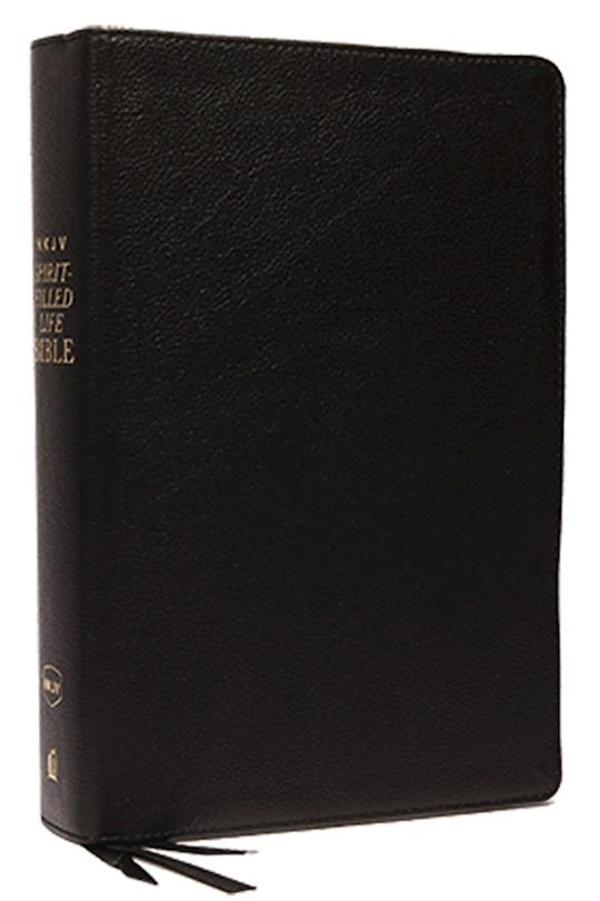 NKJV Spirit-Filled Life Bible (Third Edition) (Comfort Print)-Black Genuine Leather    SHOPtheWORD
