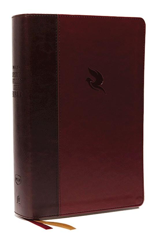 NKJV Spirit-Filled Life Bible (Third Edition) (Comfort Print)-Burgundy Leathersoft Indexed  | SHOPtheWORD