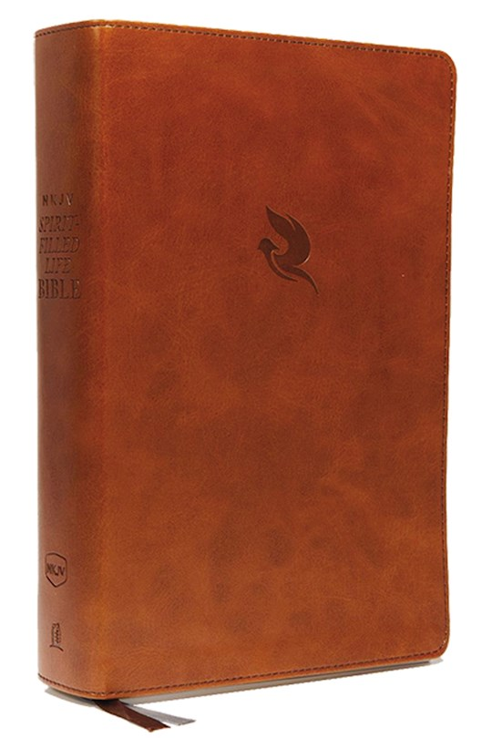 NKJV Spirit-Filled Life Bible (Third Edition) (Comfort Print)-Brown Leathersoft | SHOPtheWORD