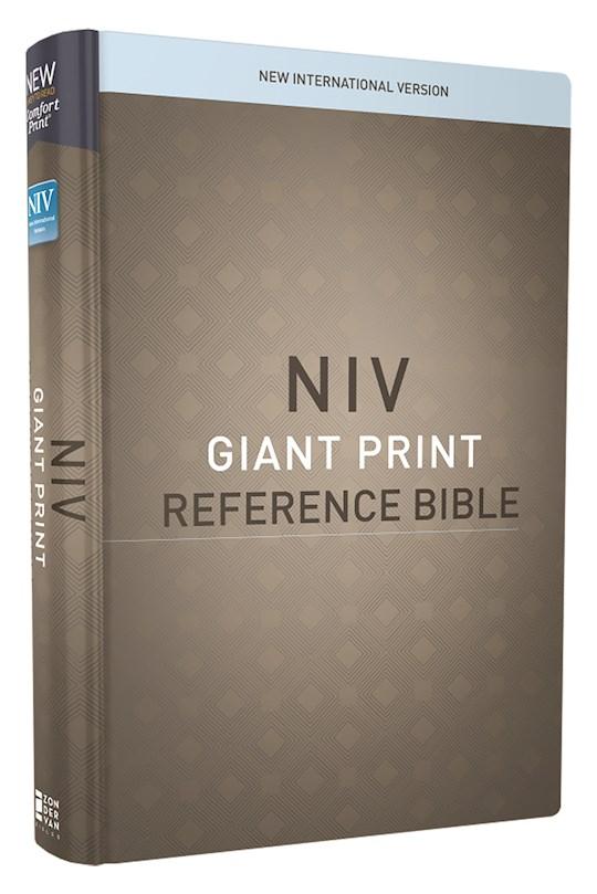 NIV Giant Print Reference Bible (Comfort Print)-Hardcover   SHOPtheWORD