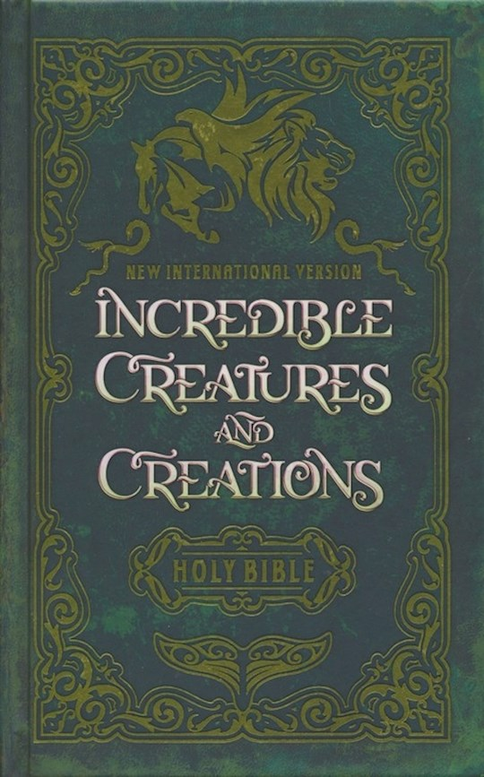 NIV Incredible Creatures And Creations Holy Bible-Hardcover  | SHOPtheWORD