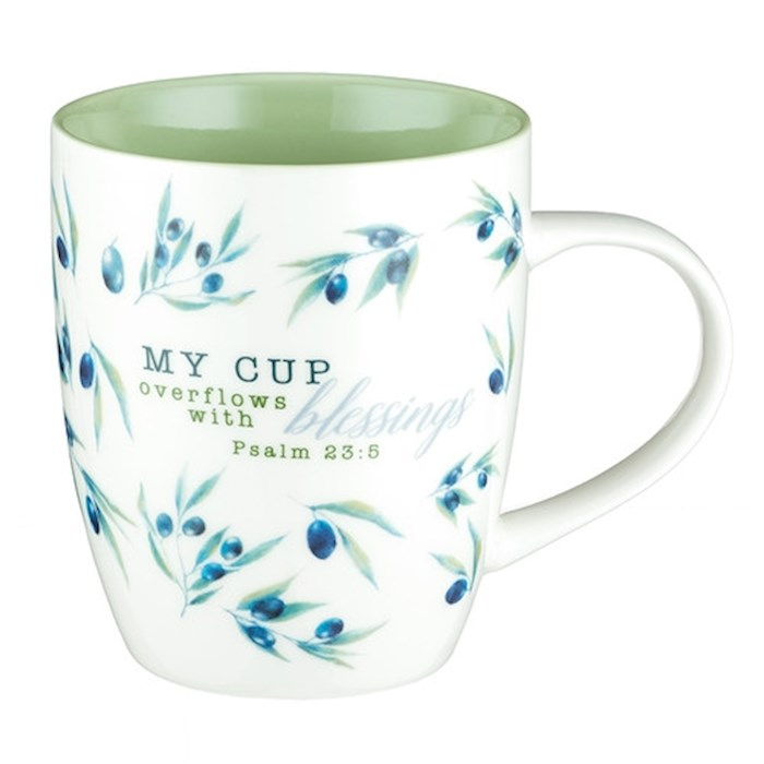 Mug-My Cup Overflows with Blessings | SHOPtheWORD
