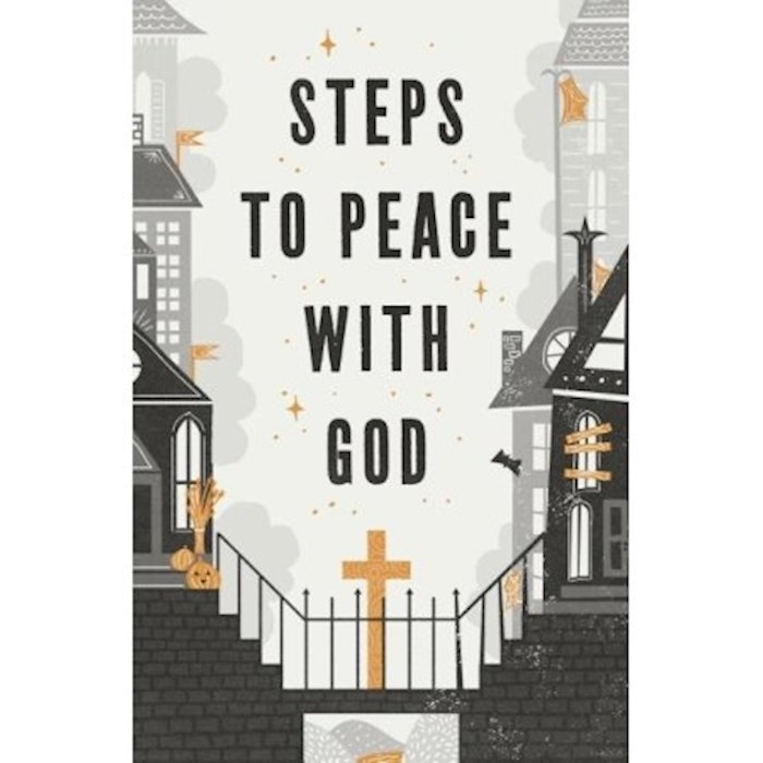 Tract-Halloween: Steps To Peace With God (ESV) (Pack Of 25) by Tract Society Amer | SHOPtheWORD