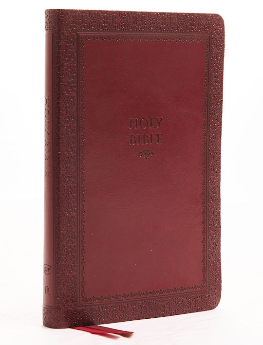 KJV Thinline Bible (Comfort Print)-Crimson Leathersoft Indexed  | SHOPtheWORD