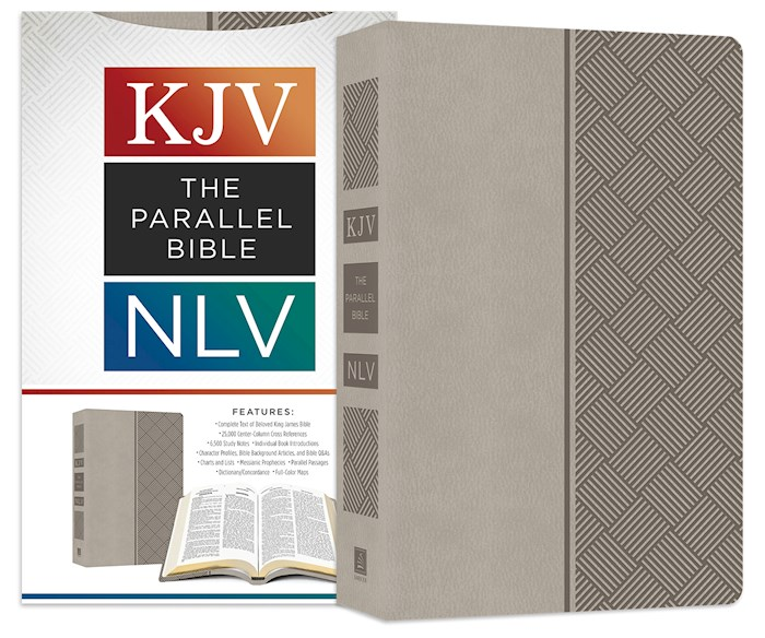 KJV/NLV Parallel Bible-Pewter Softcover   SHOPtheWORD