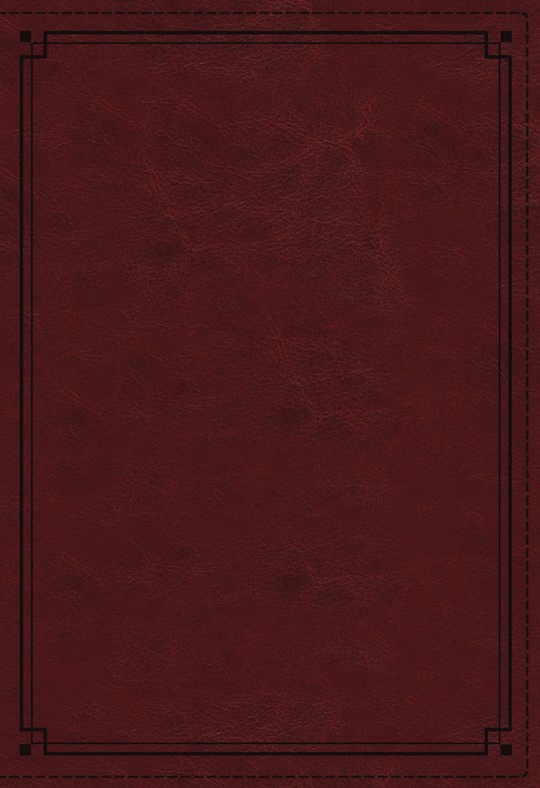 NKJV Study Bible (Comfort Print)-Crimson Leathersoft Indexed  | SHOPtheWORD