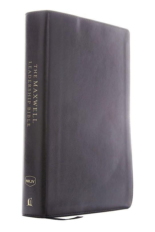 NKJV Maxwell Leadership Bible (Third Edition) (Comfort Print)-Black Leathersoft | SHOPtheWORD