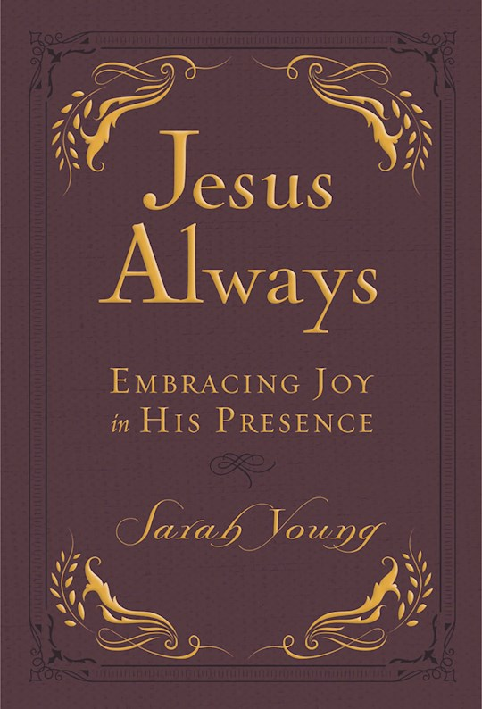 Jesus Always Small Deluxe Edition by Sarah Young | SHOPtheWORD
