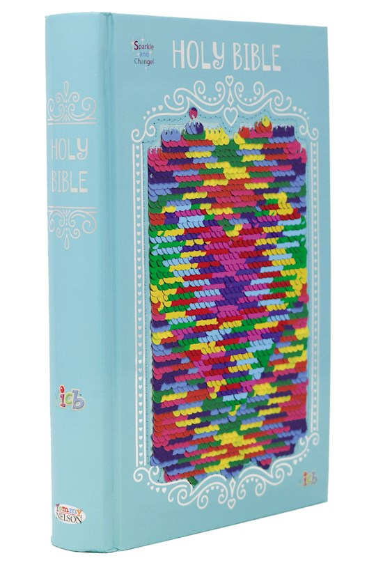 ICB The Sequin Sparkle And Change Bible-Rainbow Hardcover | SHOPtheWORD