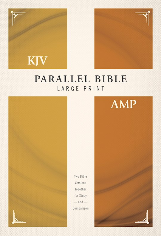 KJV/Amplified Parallel Bible/Large Print-Hardcover   SHOPtheWORD