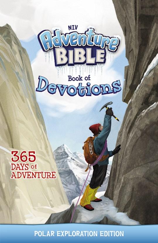 NIV Adventure Bible Book Of Devotions (Polar Exploration Edition) by ZonderKidz | SHOPtheWORD