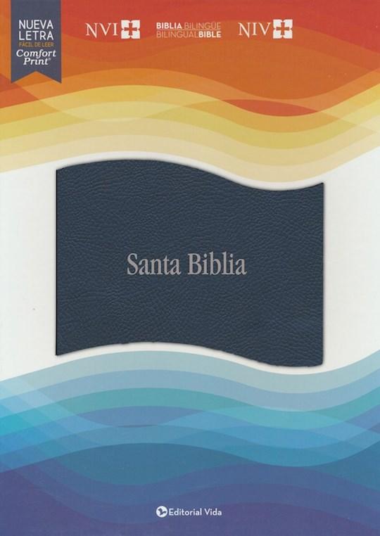 Span-NVI/NIV Bilingual Bible (Comfort Print)-Black Leathersoft Indexed | SHOPtheWORD