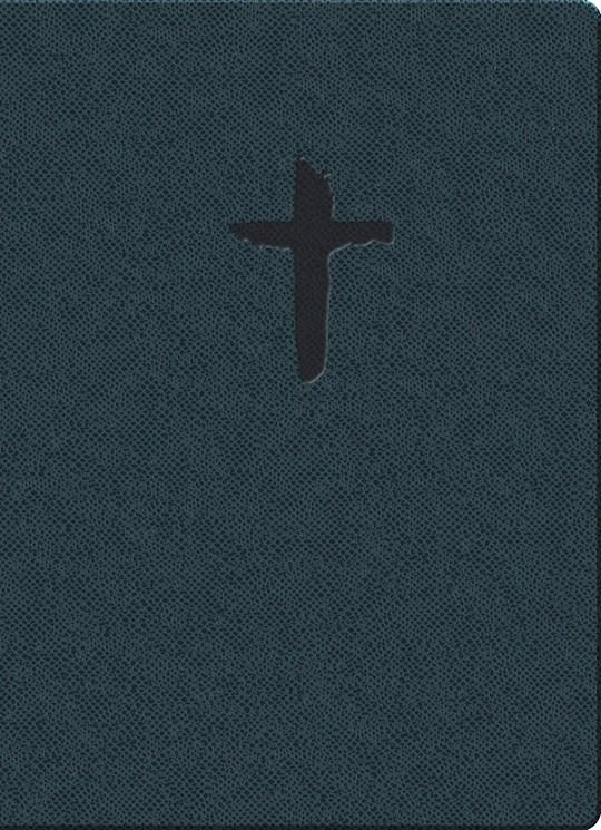 KJVER Gift & Award/Thinline Personal Size-Blue Reptile Imitation Leather | SHOPtheWORD