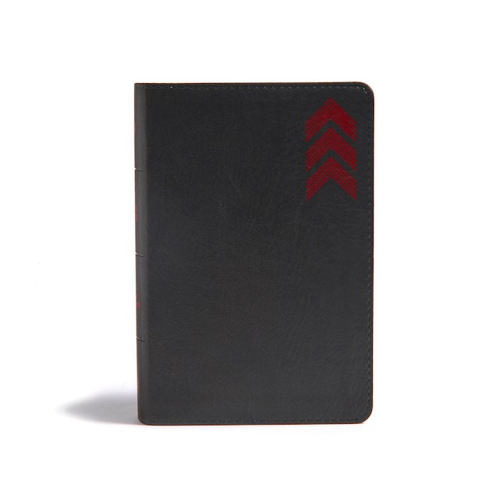 KJV On-The-Go Bible-Charcoal Arrow LeatherTouch (Not Available-Out Of Print) | SHOPtheWORD