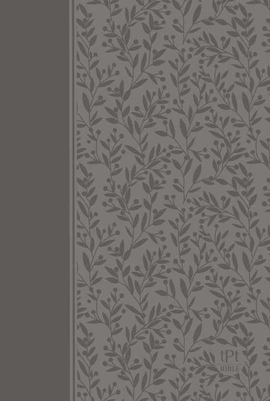 The Passion Translation New Testament With Psalms, Proverbs & Song Of Songs (2nd Edition)-Gray Imitation Leather  | SHOPtheWORD