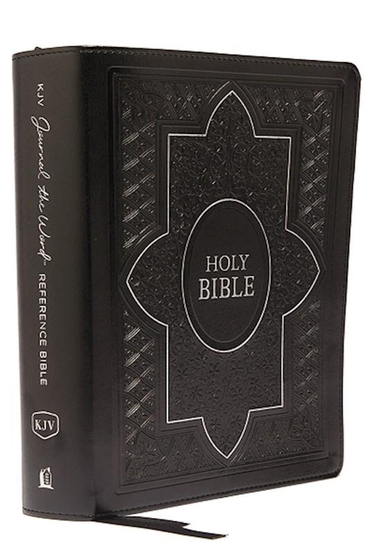 KJV Journal The Word Reference Bible (Comfort Print)-Black Leathersoft  | SHOPtheWORD