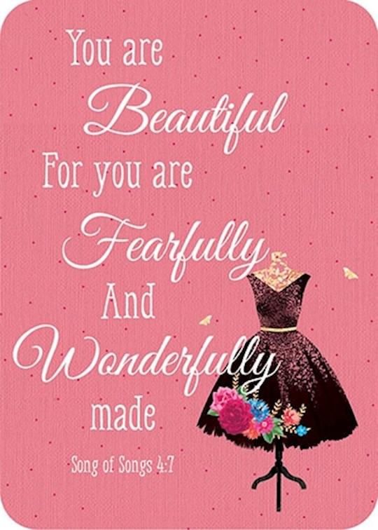 "Verse Card-You Are Beautiful (2.5""x3.5"")   SHOPtheWORD"