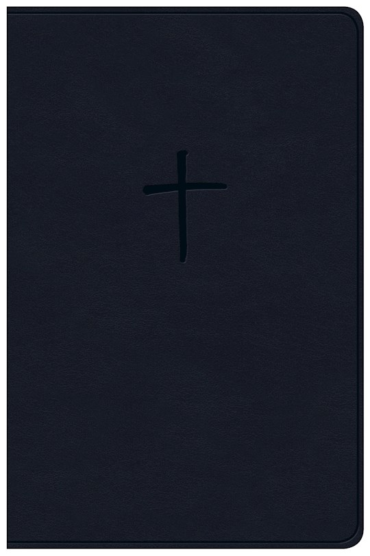 NKJV Compact Bible (Value Edition)-Navy LeatherTouch | SHOPtheWORD