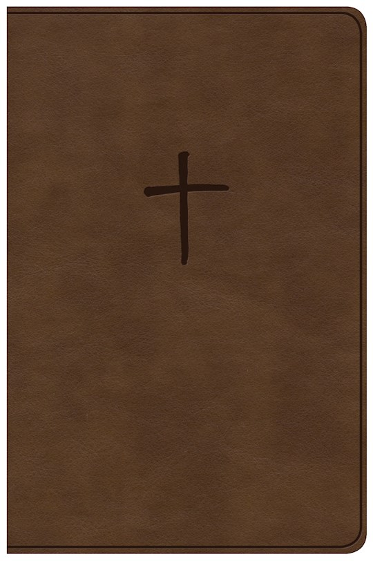 NKJV Compact Bible (Value Edition)-Brown LeatherTouch | SHOPtheWORD