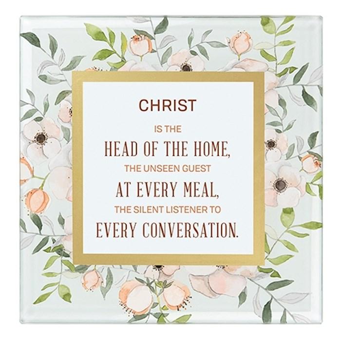 "Framed Art-Tabletop-Christ/Home (7"" x 7"") | SHOPtheWORD"