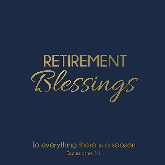 "Cards-Gift-Retirement Blessings (Ecclesiastes 3:1) (3"" X 3"") 