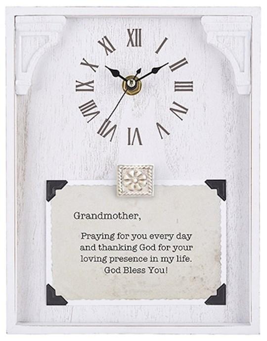 "Clock-Framed Tabletop-Grandmother (7"" x 9"") | SHOPtheWORD"
