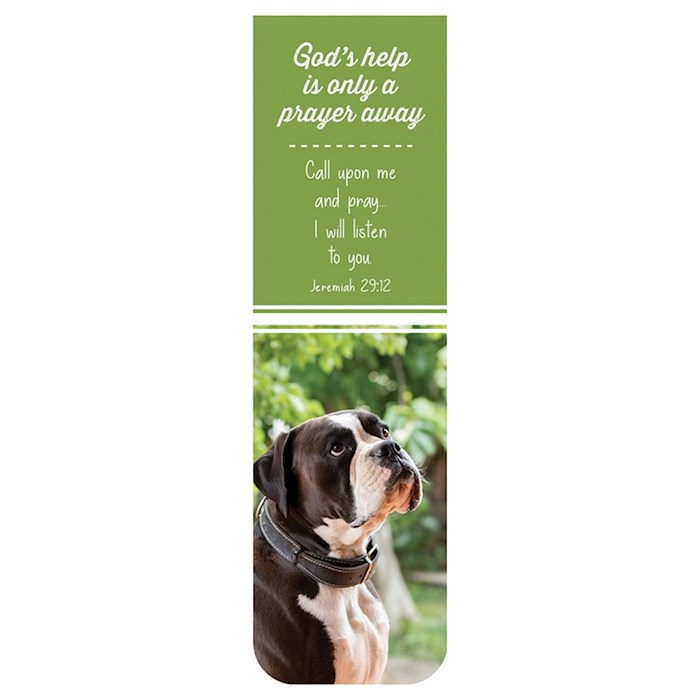 Magnetic Bookmark-God's Help | SHOPtheWORD