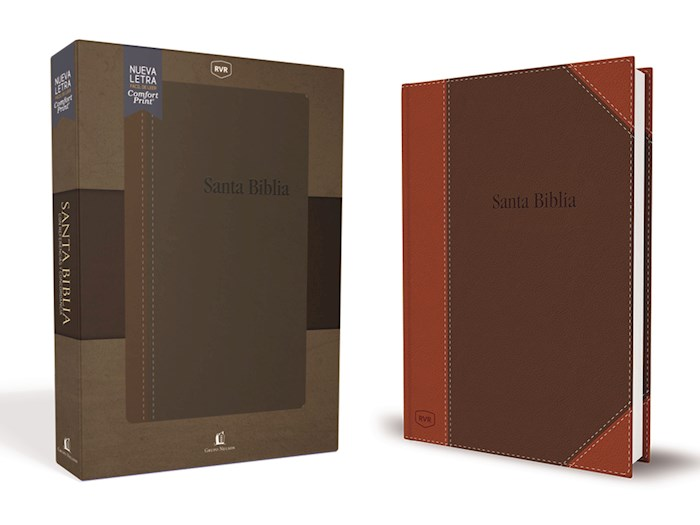 Span-RVR 1977 Reference Bible w/Concordance (Comfort Print)-Contemporary Brown Leathersoft  | SHOPtheWORD