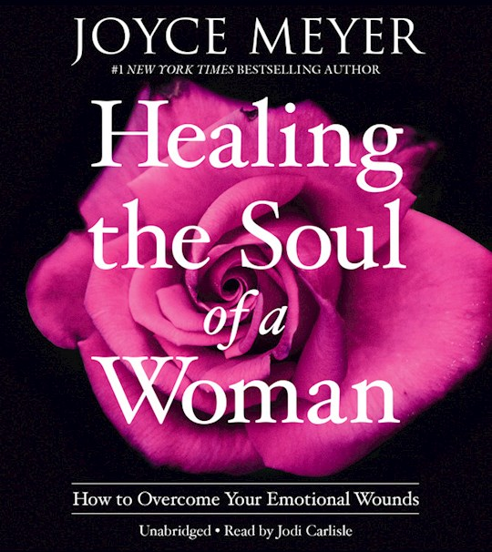 Audiobook-Audio CD-Healing The Soul Of A Woman  by Joyce Meyer | SHOPtheWORD