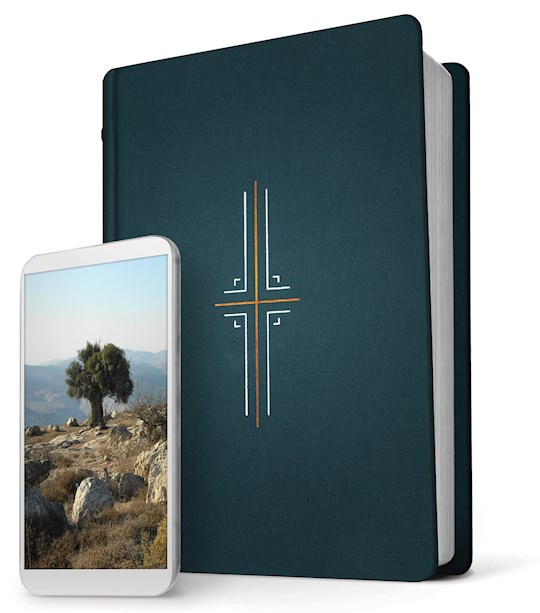 NLT Filament Bible-Midnight Blue Hardcover | SHOPtheWORD