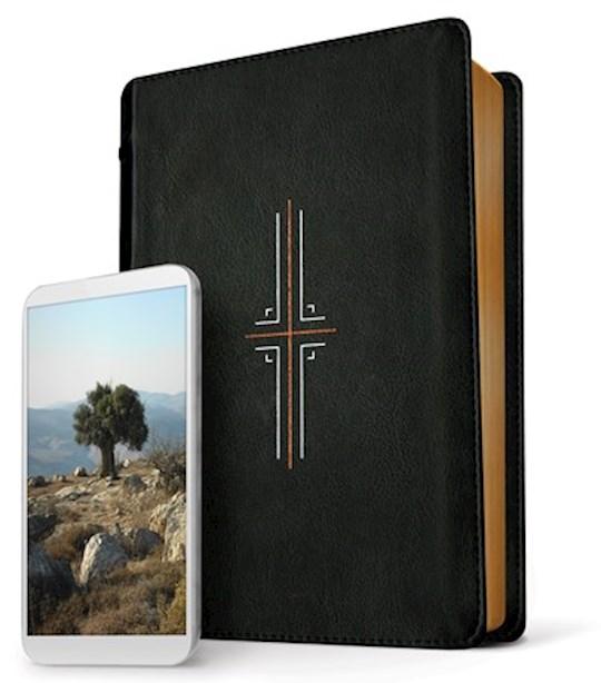 NLT Filament Bible-Black LeatherLike | SHOPtheWORD
